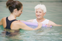 one on one aquatic therapy